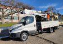Prefeitura de Formigueiro adquire caminhão para iluminação pública