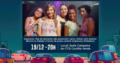 Drive-In CINE SESC em Formigueiro.