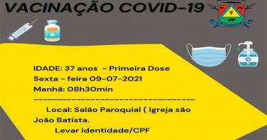 Vacinação – Covid -19